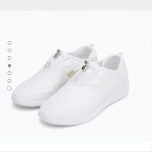 22 zara shoes zara white sneakers from s