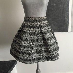 Stiff flattering skirt