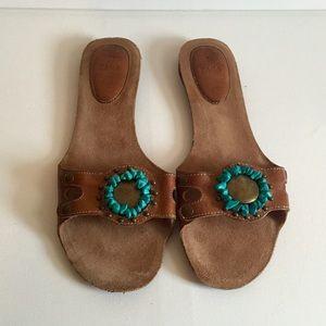 Brand New Zara Leather Sandals