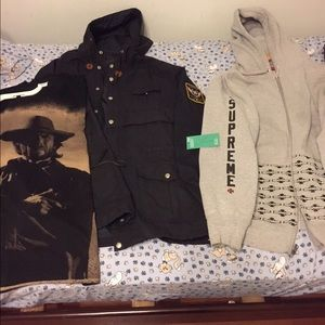 Authentic Supreme clothing