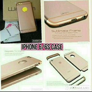 IPHONE 6/6S CASE ( ROSE GOLD )