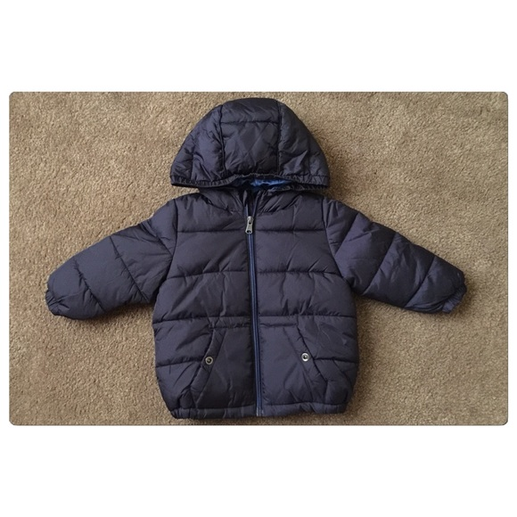 search for newest buy in stock Zara Baby Boy Navy Puffer Coat