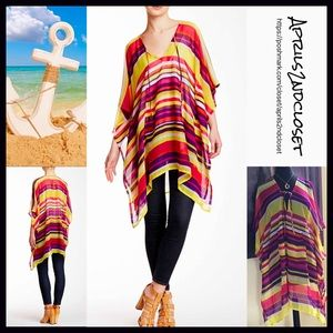 Boutique Other - ❗️1-HOUR SALE❗️Poncho Coverup Long Cape Tunic
