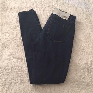 BDG skinny jeans, dark wash, 26