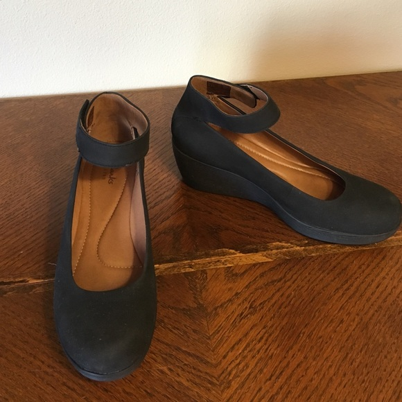 Clarks Shoes - Clark wedge Mary Janes 4ce049cff4f4