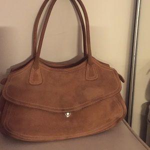 LK Bennett Handbags - LK Bennett suede handbag