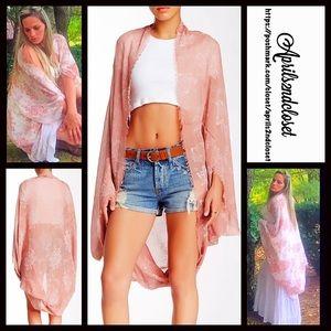 Boutique Sweaters - Kimono Long Cardigan Cardi Cape