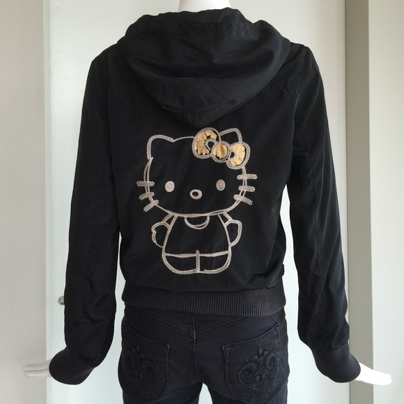 00b478b30 HEllo Kitty & Victoria Couture Jackets & Blazers - Hello Kitty & Victoria  Couture black hoodie