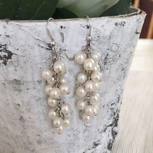 Jewelry - Pearl Dangle Earrings