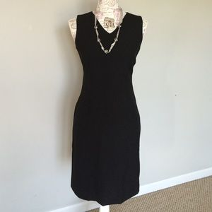 Old Navy Stretch black dress Sz 1 Office ready