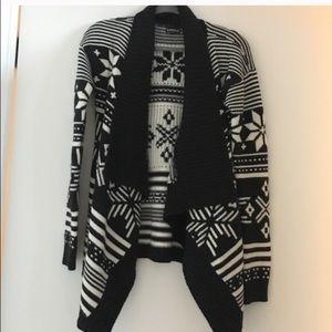 Express drape sweater medium