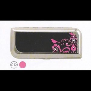 Glam Accessories - Tampon case w/crystal accents