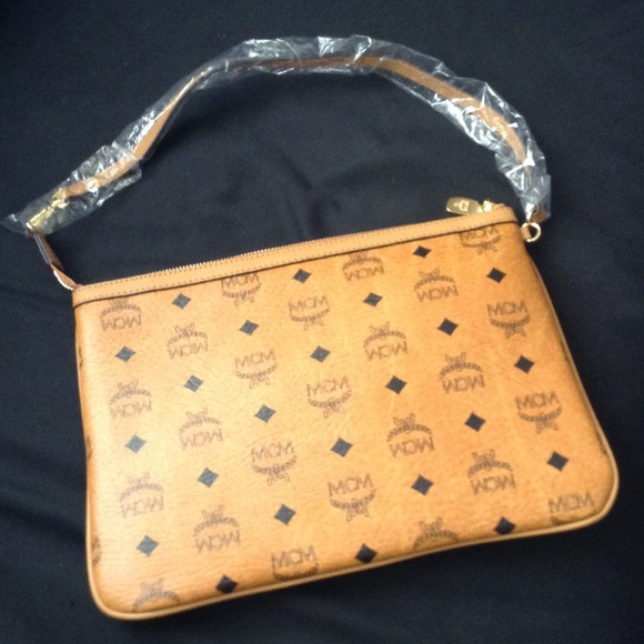 Authentic NEW MCM clutch bag