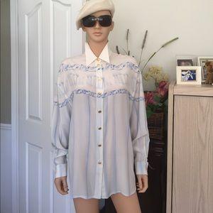 Escada Tops - 💐NWOT..ESCADA...Margaretha Ley...100% silk blouse
