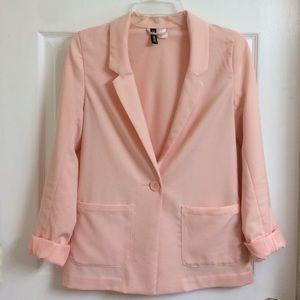 Peach H&M blazer