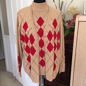 Escada Sweaters - 💐ESCADA...sweater set wool,cashmere and silk