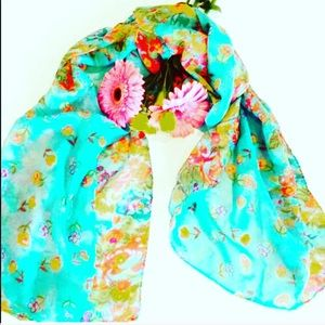 Accessories - New Beautiful Floral Scarf