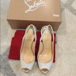 Christian Louboutin Shoes - Christian Louboutin Private Number Edelweiss heels
