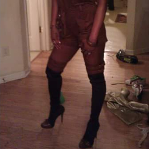 29 report signature shoes thigh high boots from
