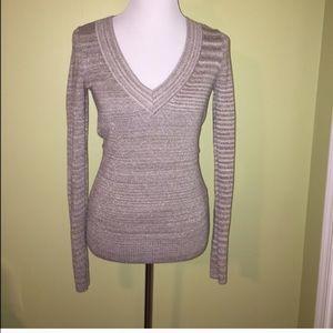 Express v neck sweater medium
