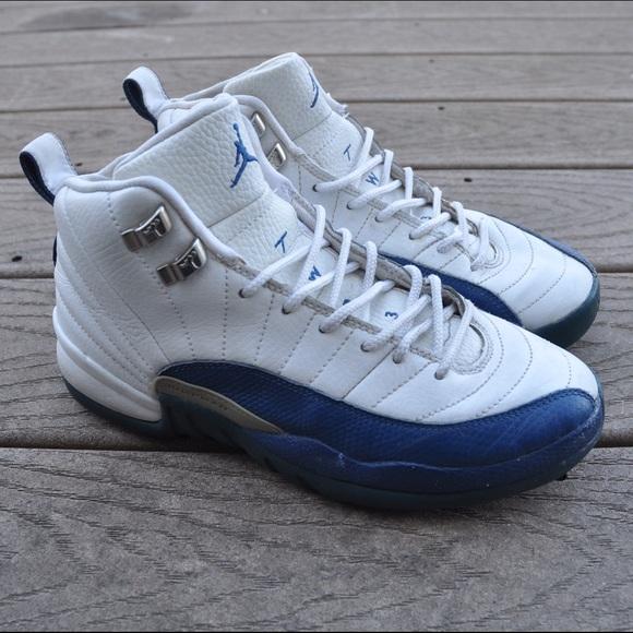 16ad4fc92bc4 Jordan Shoes - Jordan French Blue 12 Sz 6Y 2004 release