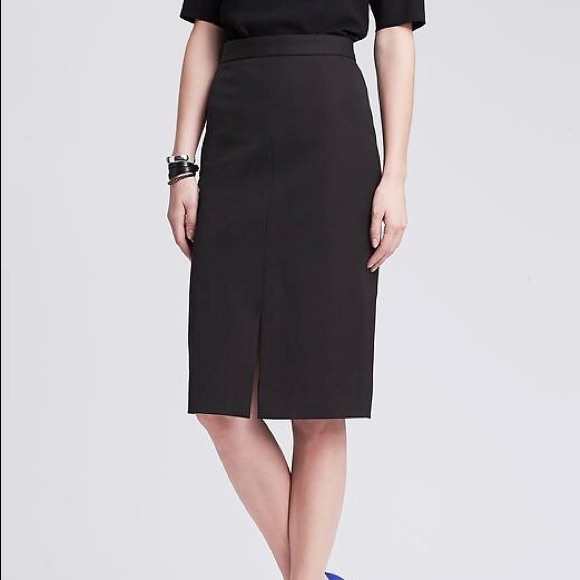 Banana Republic Skirts Sloan Pencil Skirt By In Black