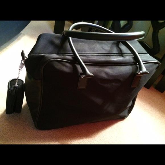308b6e4f9f2 Calvin Klein Bags | Black Nylon Ck Duffle Travel Bag | Poshmark