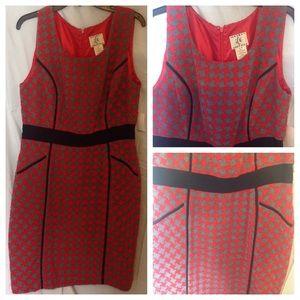 Dresses & Skirts - Mix Pattern Form Fitting Dress
