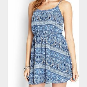 SaleBlue Summer Dress 