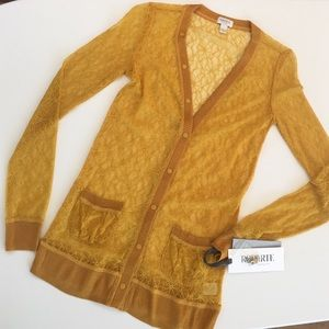 RODARTE for Target Jackets & Blazers - RODARTE for Target lace cardigan NWT