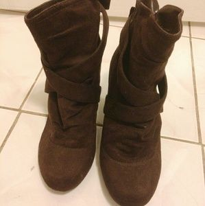 Shoes - Chocolate booties