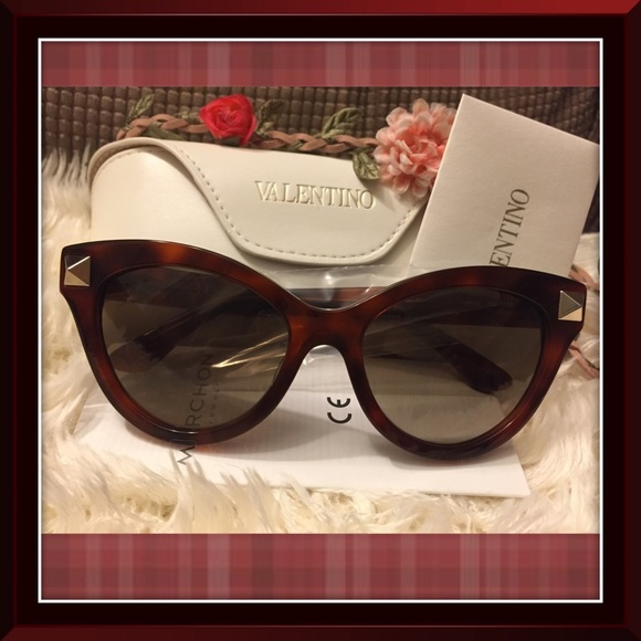 0ba3baac27d77 Valentino Accessories | Authentic Cat Eye Sunglasses | Poshmark