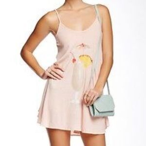 NWT Wildfox Island Breakfast Slip Dress S