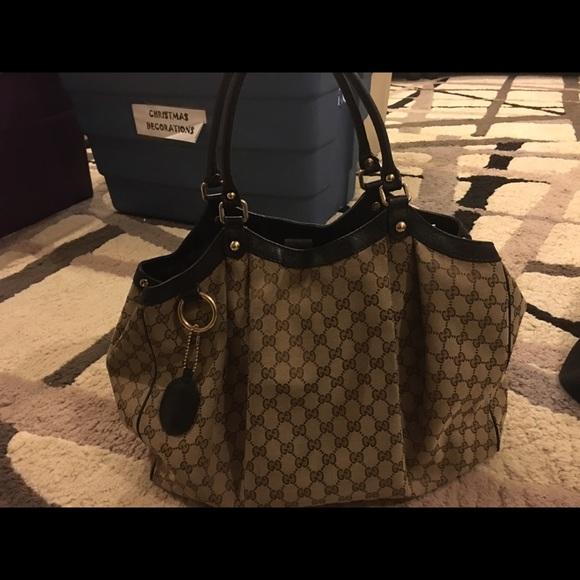 Gucci Bags - 😀💎SOLD💎😀 GUCCI SUKEY XL LARGE HANDBAG TOTE