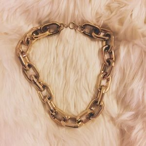 Gold Luxe Chain Link Necklace