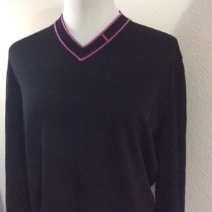 Hermes Other - Hermes black classic sweater cardigan