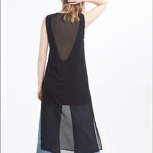 539c8a362d Zara Dresses - SALE! NWT ZARA BLACK LOW CUT BACK TUNIC DRESS