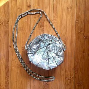 Kooba Handbags - Kooba perfect silver cross body evening bag clutch