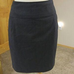 F21 Forever Twenty One Gray Skirt