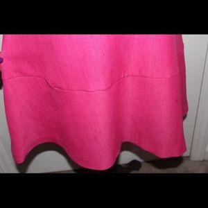 Kim Rogers Dresses - Pink drop waist flare dress
