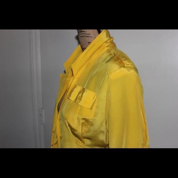 Dresses - Vintage yellow flare dress