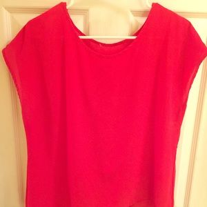 Tops - Red top size large