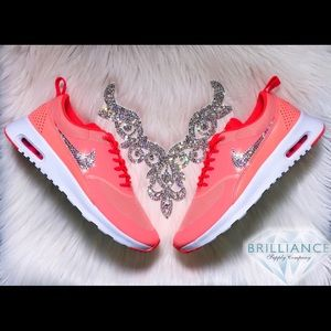 big sale d12ab a7c64 Nike Shoes - Swarovski Nike Air Max Thea Coral -Nike Sportswear