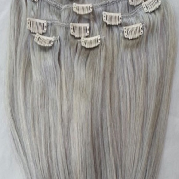 50 off other silver blonde clip in hair extensions from other silver blonde clip in hair extensions pmusecretfo Images