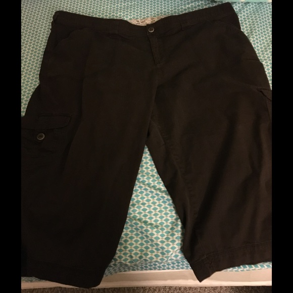 Lee - Lee Plus Size 24 Brown Capris from Kimberly's closet on Poshmark