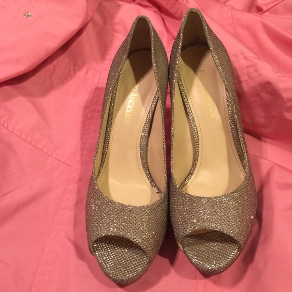 50 off enzo angiolini shoes silver sparkle enzo