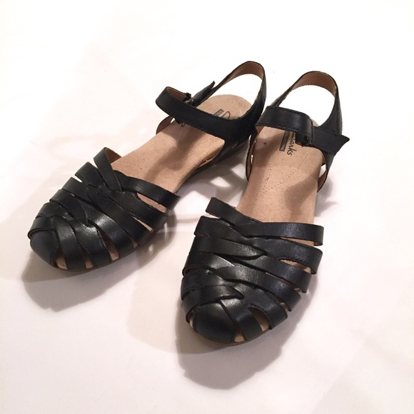 a951a4270ee Clarks Shoes - Clarks Collection Jaina Woven Leather Sandal