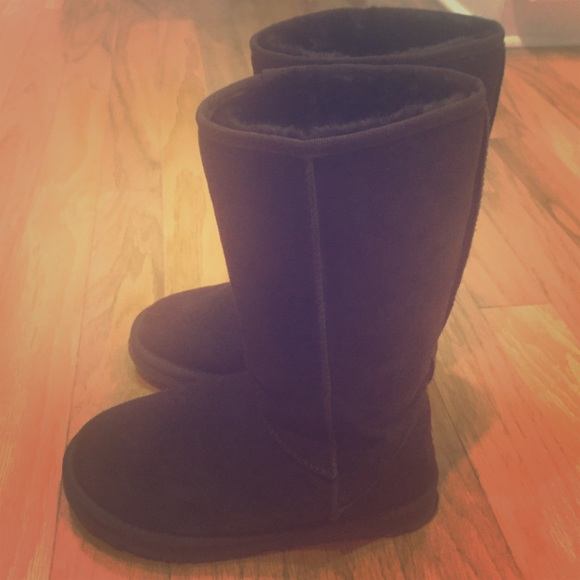 ugg boots brown tall - photo #29
