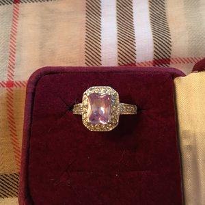 LIA Sophia Amethyst CZ ring