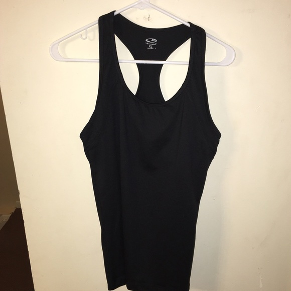 75 off champion tops work out tank with shelf bra from. Black Bedroom Furniture Sets. Home Design Ideas